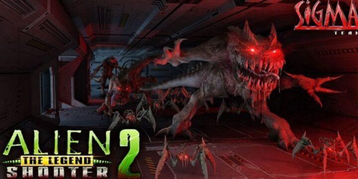 Alien Shooter 2: The Legend هي لعبة إطلاق نار من أعلى لأسفل تم تطويرها بواسطة Sigma Team