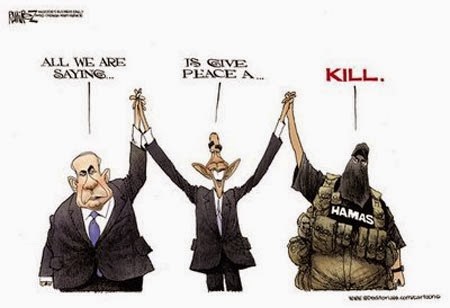 Image result for israel hated by obama cartoons