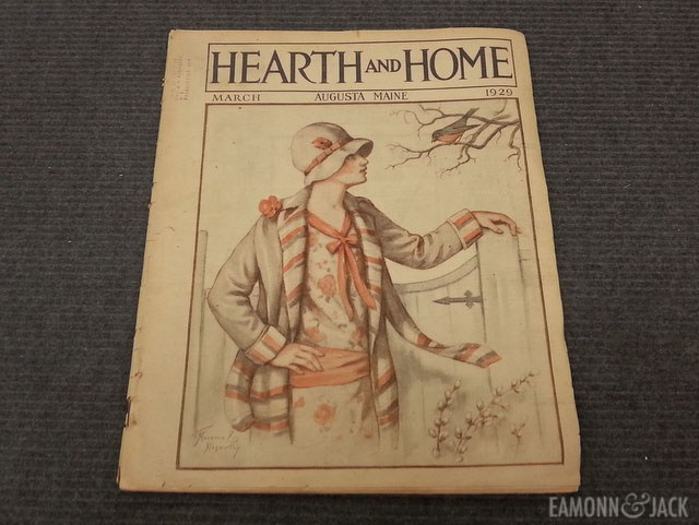 Hearth and Home Magazine March 1929