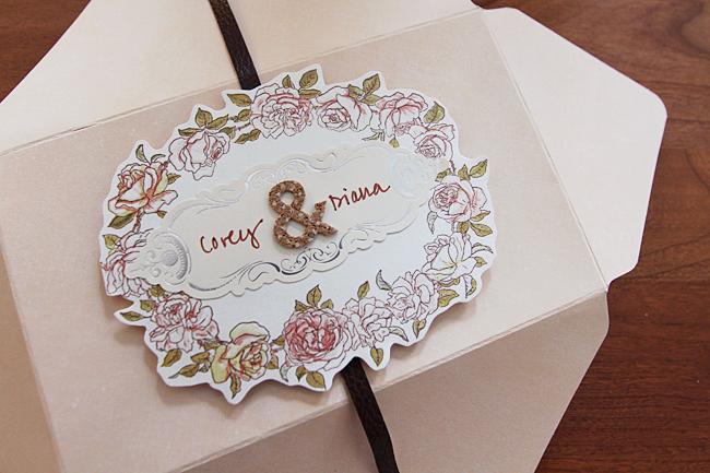 sei lifestyle: Handmade Floral Wedding Money Gift Holder