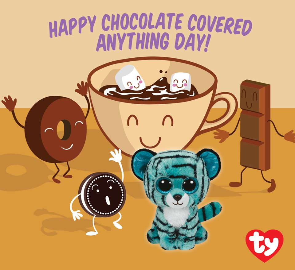 National Chocolate Covered Anything Day Wishes For Facebook