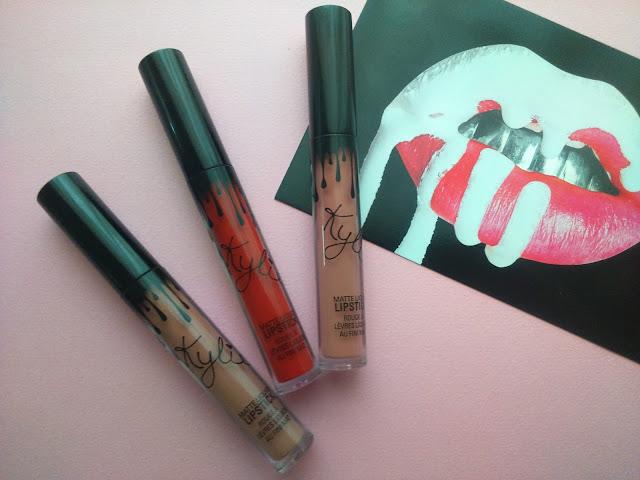 Kylie Cosmetics - Dolce K, Mary Jo K, Candy K