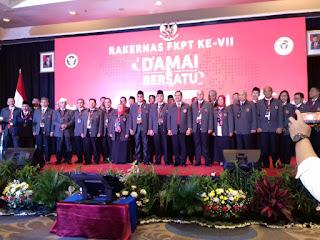 Dosen UIN Walisongo Syamsul Ma'arif Dilantik Jadi Kepala FKPT Jawa Tengah.
