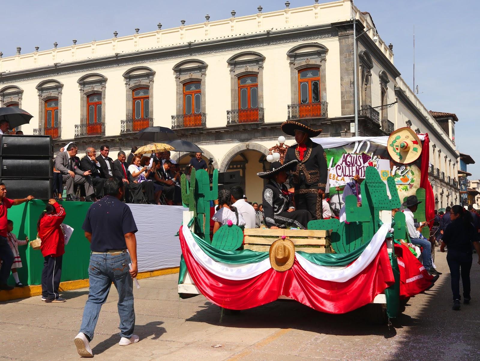Así se vivió el desfile del 20 de noviembre