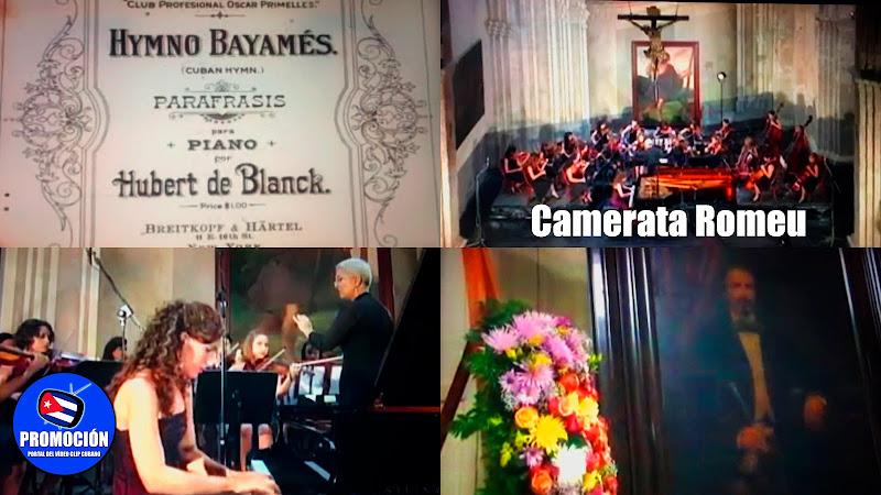 Camerata Romeu - ¨Paráfrasis del Himno Bayamés¨ (Autor Hubert de Blanck) - Videoclip - Director: Sergio GF. Portal Del Vídeo Clip Cubano. Cuba.
