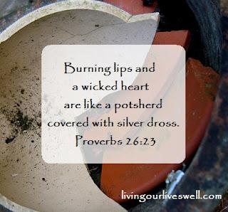 Proverbs 26:23