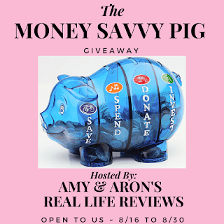 #ALT Money Savvy Pig Giveaway ~ Ends 8/30