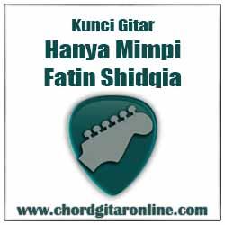 Kunci Gitar Fatin Hanya Mimpi