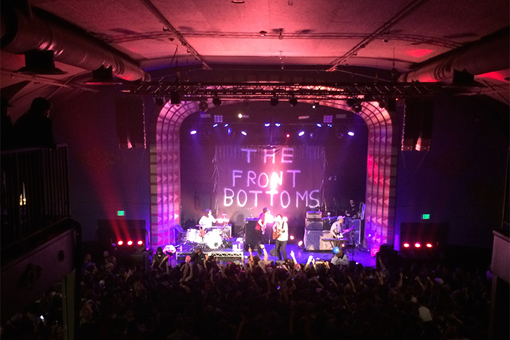 The Front Bottoms, The Regent Theater