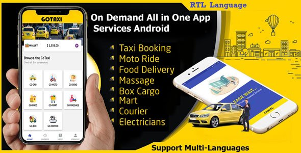 Uber – Taxi Booking App