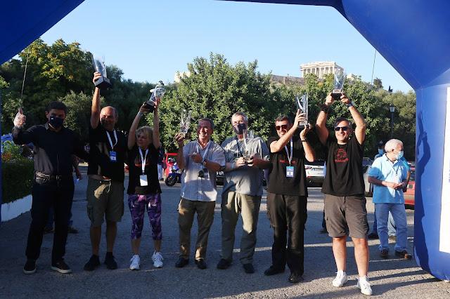 Επιτυχίες για αθλητές από την Αργολίδα στο Historic Acropolis Regularity Rally