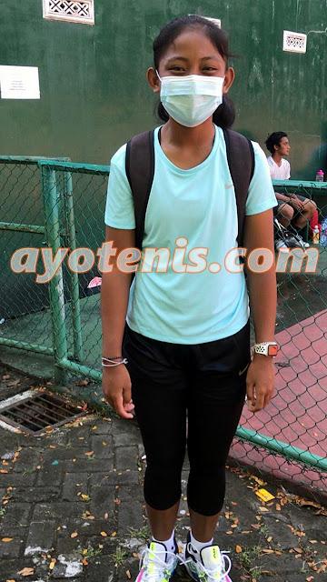 Melaju ke Final Kejurnas Tenis Yunior Piala Ketua Pengkot PELTI Makassar, Chantika Dinda Bertekad Harumkan Nama Jawa Timur