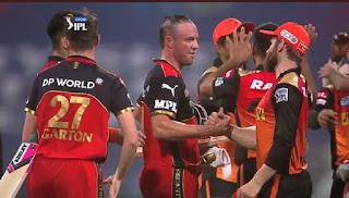 RCB vs SRH 52nd Match IPL 2021 Highlights