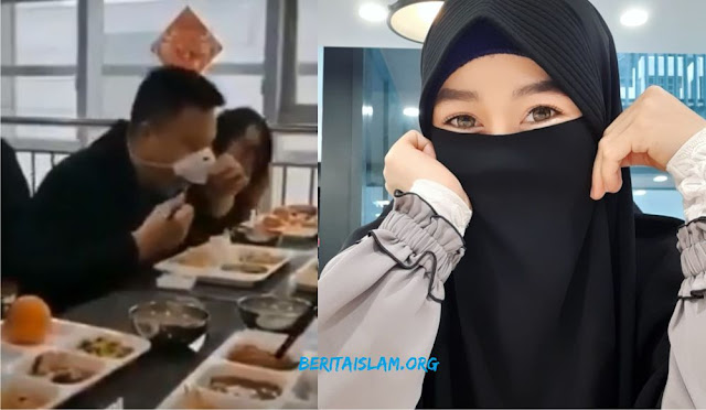 cadar muslimah dan cadar china