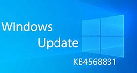 La mise à jour KB4568831