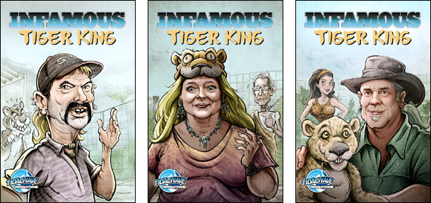 Tiger King Covers 4
