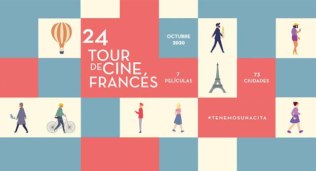El Tour de Cine Francés presenta su 24va edición en México