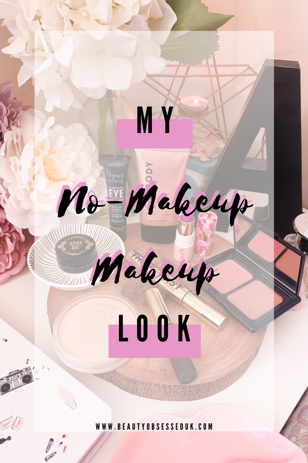 My No-Makeup Makeup Look Pinterest