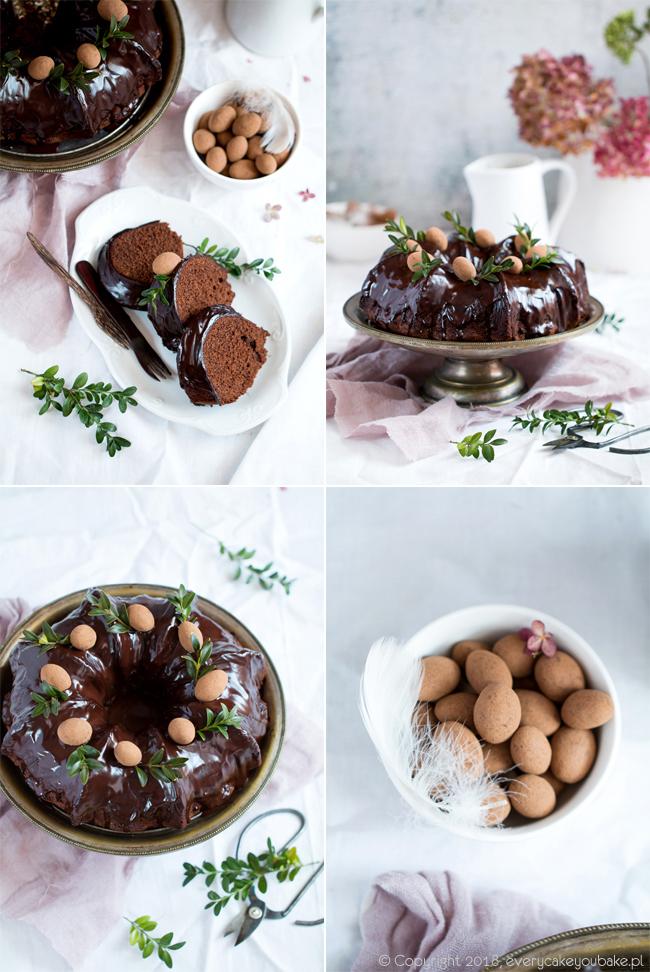 babka czekoladowa ucierana intensywnie czekoladowa