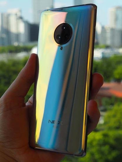Spesifikasi Vivo Nex 3 Beserta Harganya 12GB/128GB   Kamera Motorized pop-up