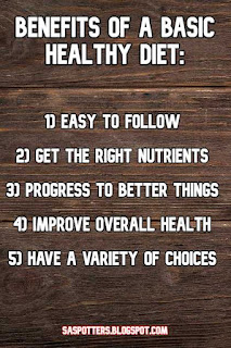 List of benefits to this diet
