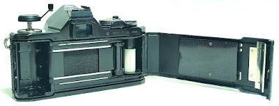 Pentax MX 35mm SLR (Black) Body #495, SMC Pentax-M 40mm F2.8 #495