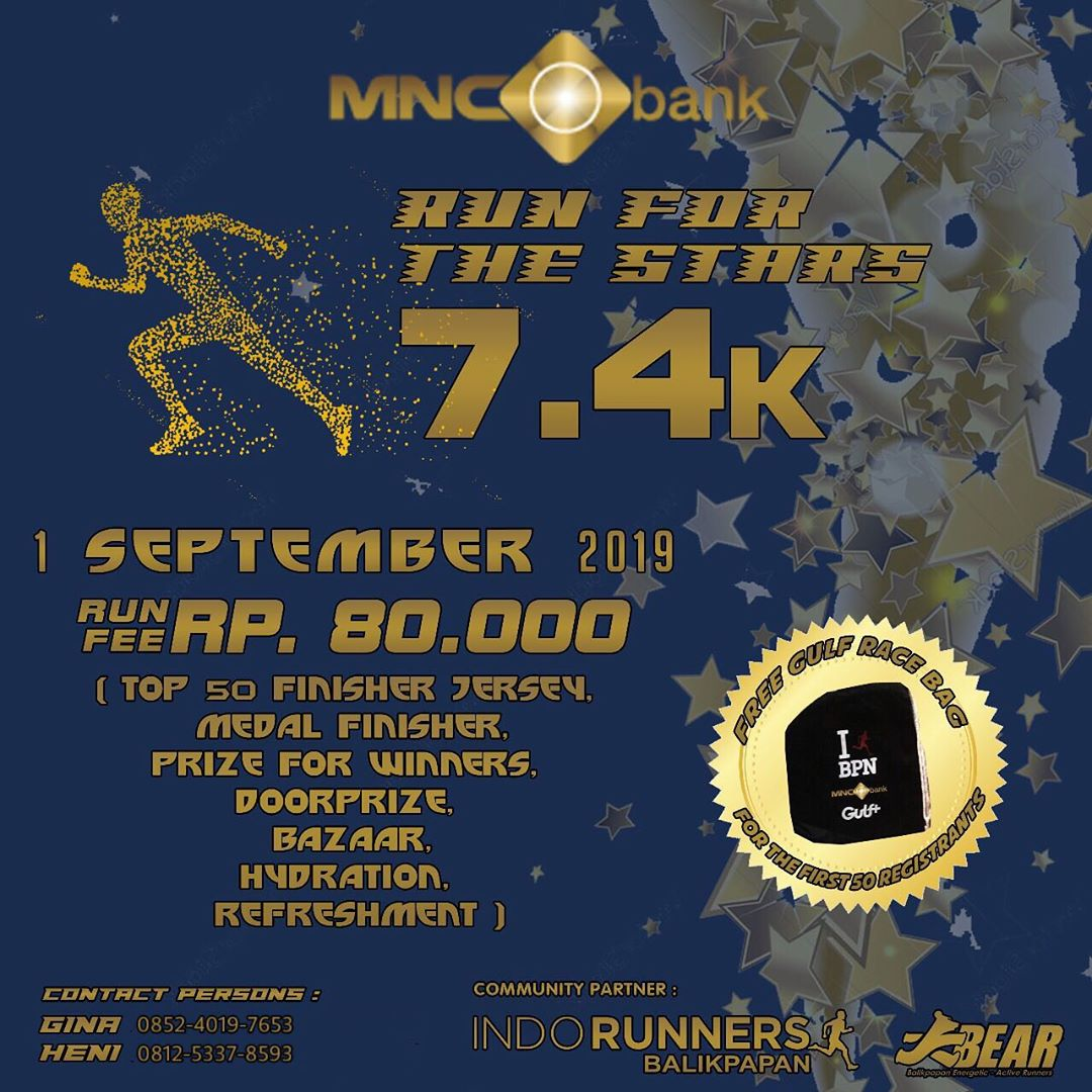 MNC Bank - Run For The Stars • 2019