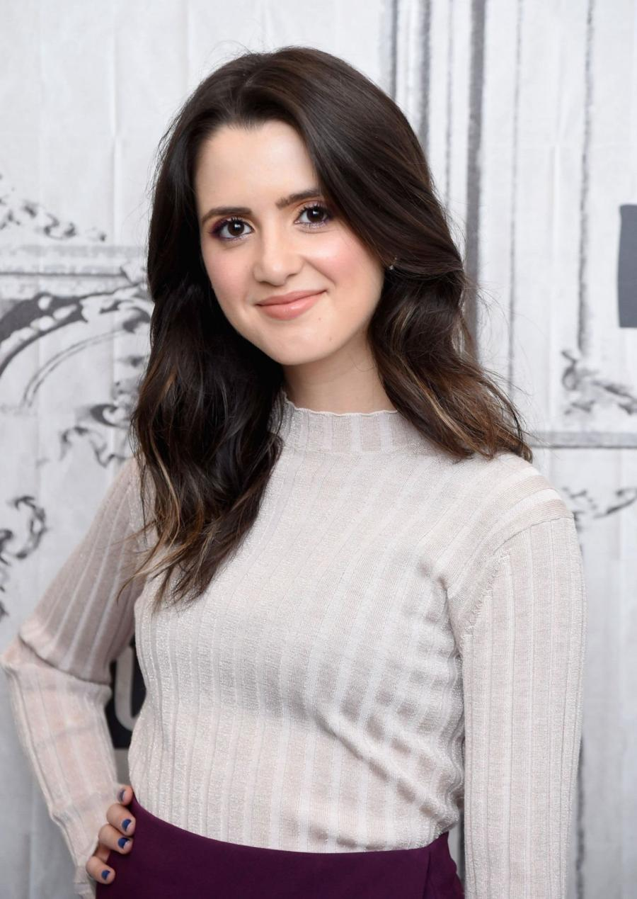 American Actress Laura Marano at BUILD Studio in New York