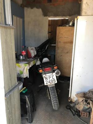 CISP de Ouro Branco recupera moto furtada e prende dupla na zona rural de Ouro Branco