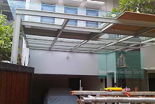 Kanopi Kaca Carport