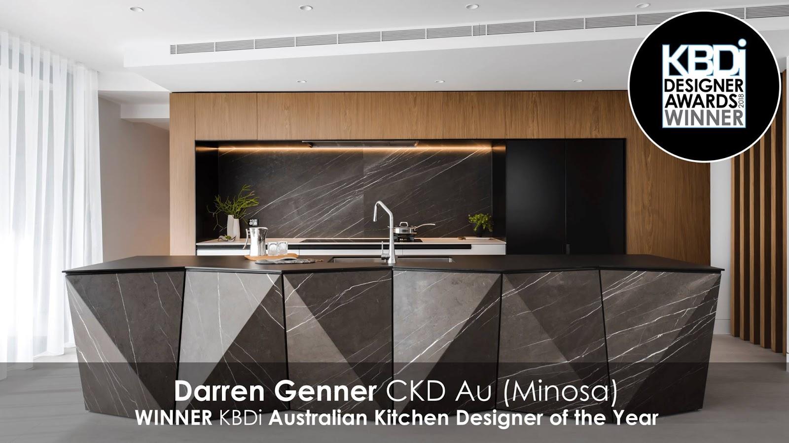 kitchen designer double sink minosa kbdi australian of the year 2018