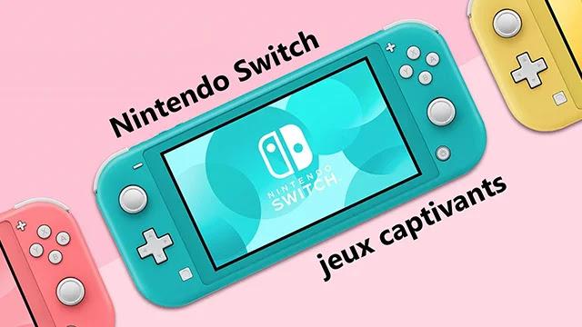 Nintendo Switch : Régalez vos yeux sur ces jeux captivants