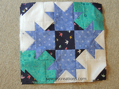 block D Dazzle Quilt Sew Joy Creations
