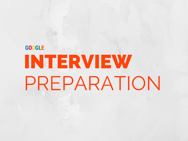 google interview preparation
