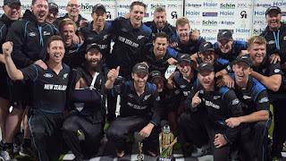 Pakistan - New Zealand tour of UAE 5-Match ODI Series 2014