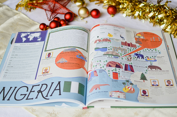 outdoorsy family gift guide, Our Wonderful World Book