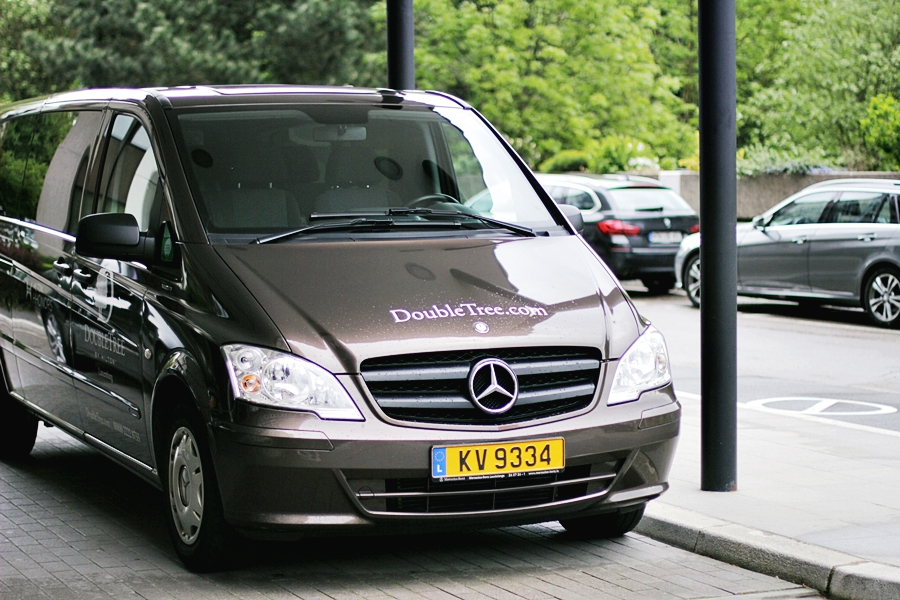 double tree hilton hotel luxembourg shuttle service
