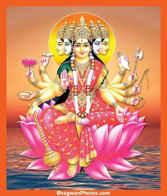 Gayatri Mata Images