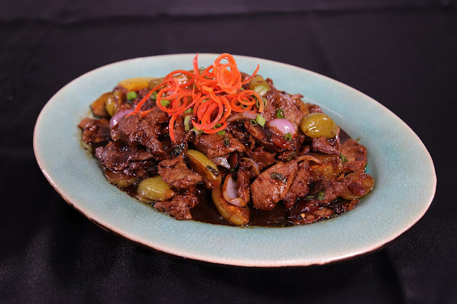 Stirfried Australian Beef with Belimbing Buluh