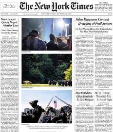 The New York Times Magazine 12 September 2021