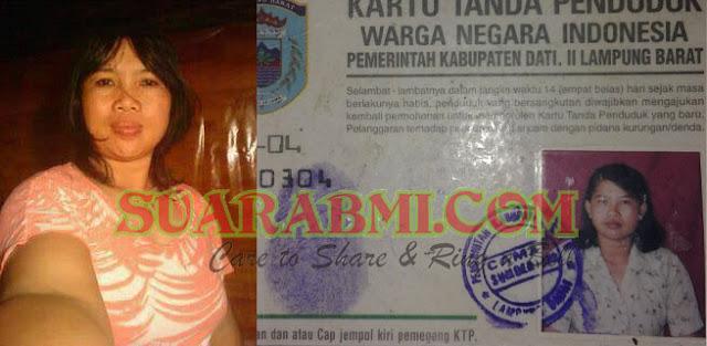 TKW Asal Lampung Ini Tidak Ada Kabar Di Malaysia, Keluarga Minta Bagi Yang Tau Untuk Memberi Informasi