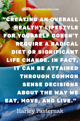 How to Follow a Healthy Lifestyle. Tips and Habits. BE POSITIVE STUDIO