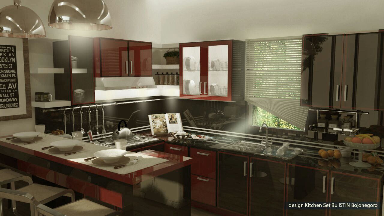 Kitchen set situbondo jasa pembuatan kitchen set for Kitchen set restoran