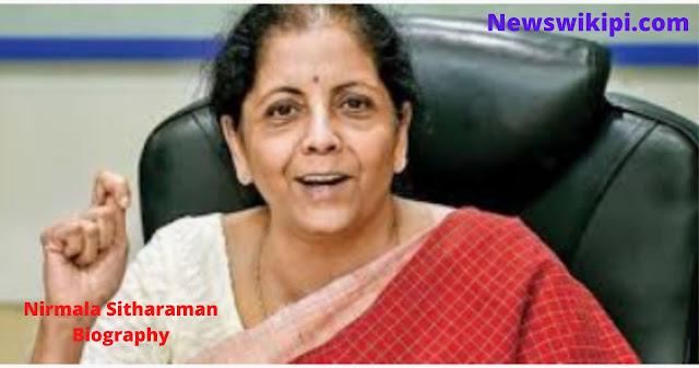 Nirmala Sitharaman Biography