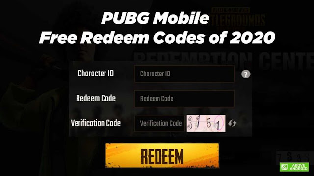 PUBG Mobile Kodları Listesi Güncellenmiş 2020!