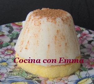 Postre de leche con sabor tradicional