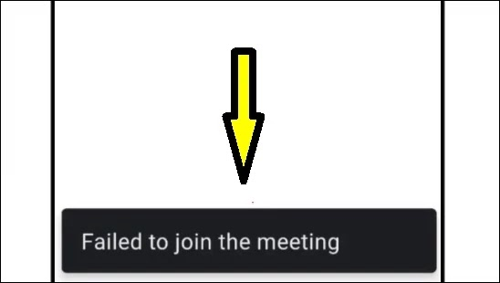 How To Fix Failed To Join The Meeting Error Issue Problem Solved in Google Meet Application
