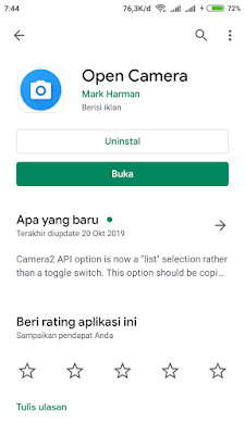 aplikasi open camera