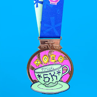 RunDisney Virtual Series 2020 - Mad Tea Party médaille