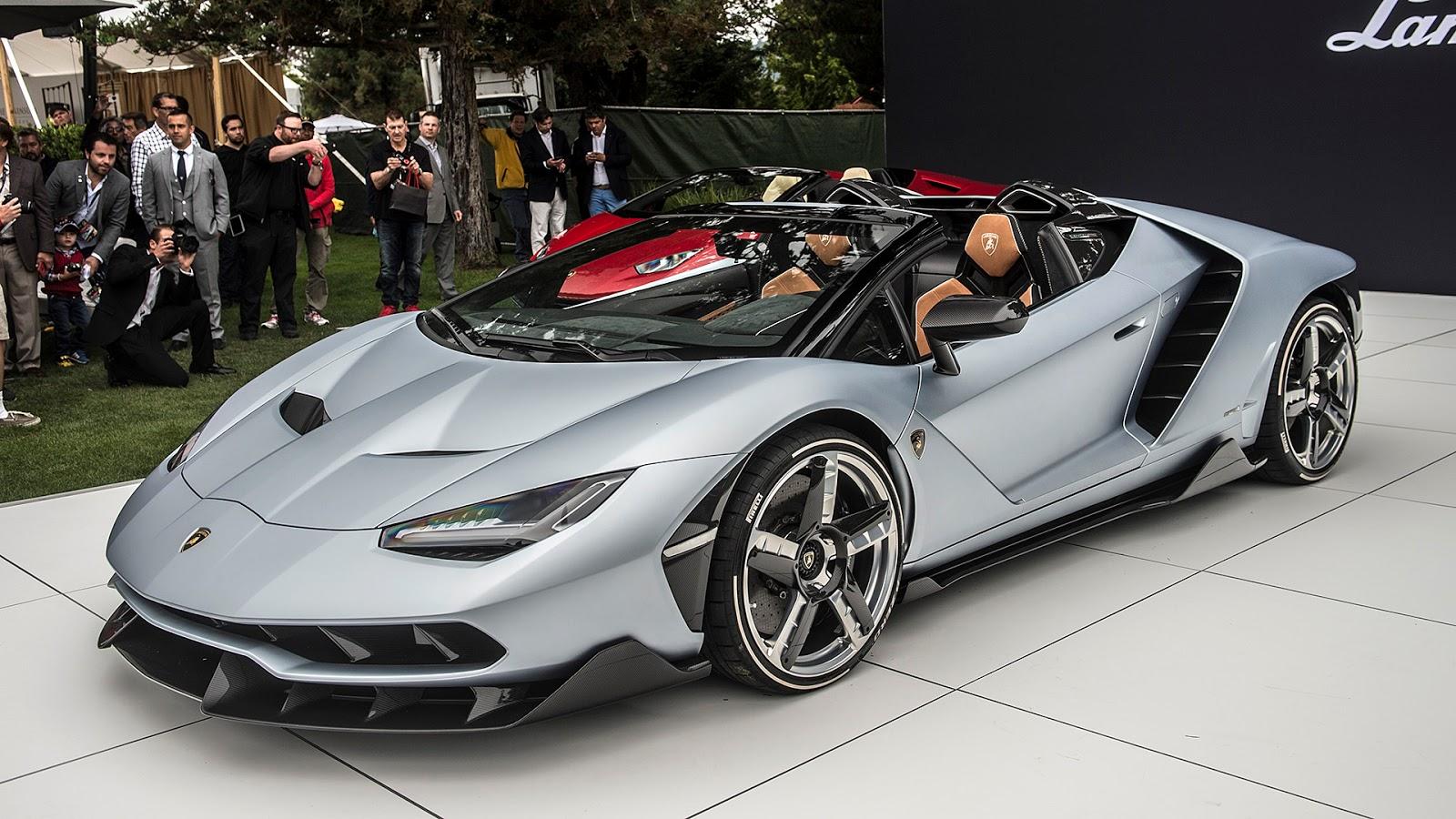 Automotiveblogz Lamborghini Centenario Roadster Debut